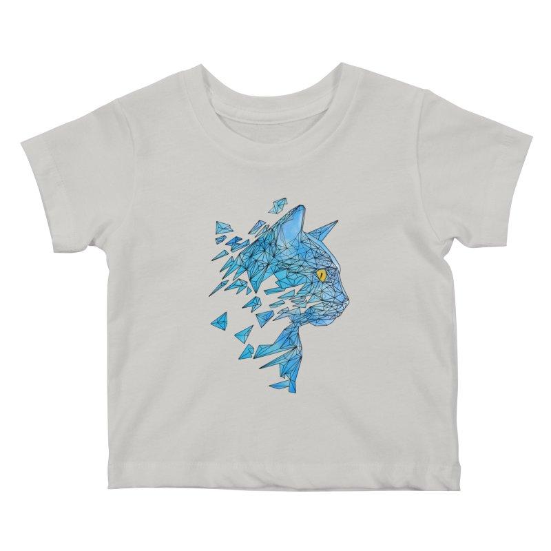 polycat Kids Baby T-Shirt by kharmazero's Artist Shop