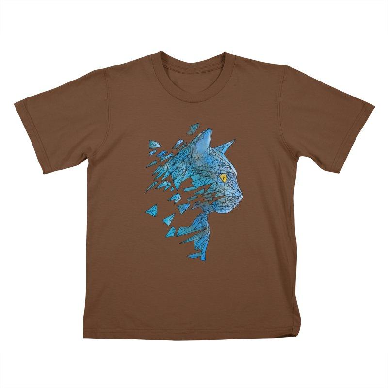 polycat Kids T-Shirt by kharmazero's Artist Shop