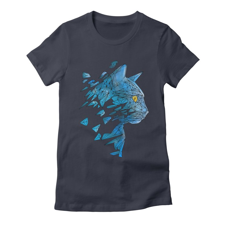 polycat Women's Fitted T-Shirt by kharmazero's Artist Shop