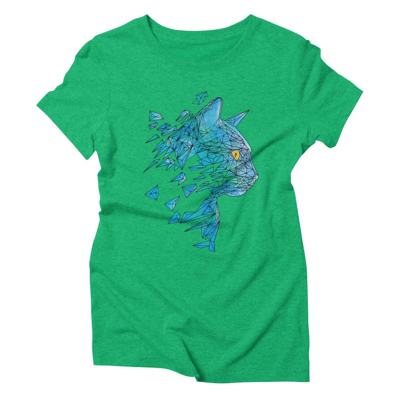 polycat Women's Triblend T-Shirt by kharmazero's Artist Shop
