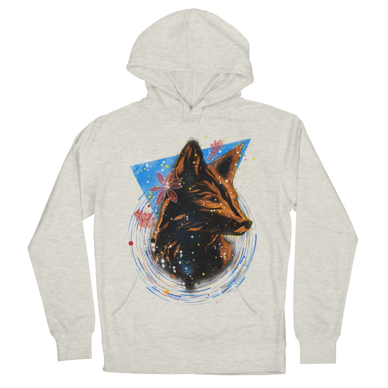 magical fox Men's Pullover Hoody by kharmazero's Artist Shop