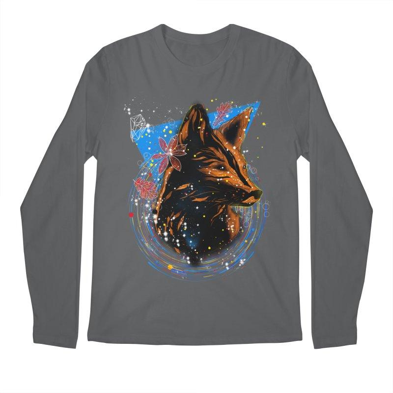 magical fox Men's Longsleeve T-Shirt by kharmazero's Artist Shop