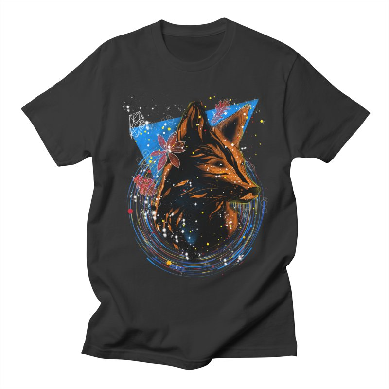magical fox Men's T-Shirt by kharmazero's Artist Shop