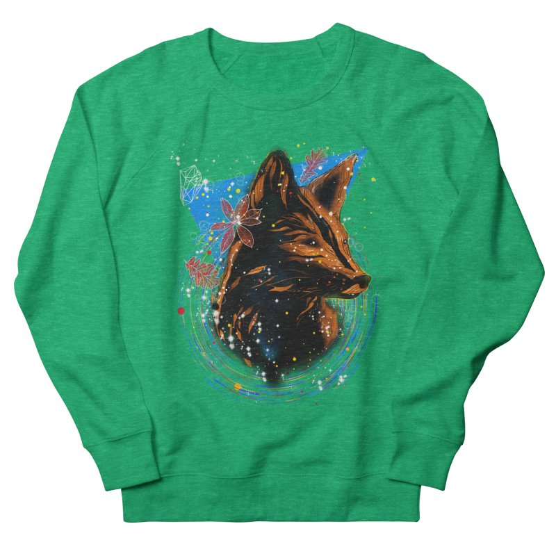 magical fox Men's Sweatshirt by kharmazero's Artist Shop