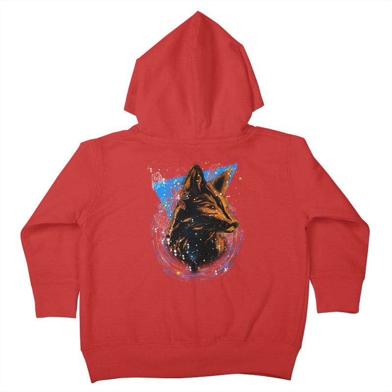 magical fox Kids Toddler Zip-Up Hoody by kharmazero's Artist Shop