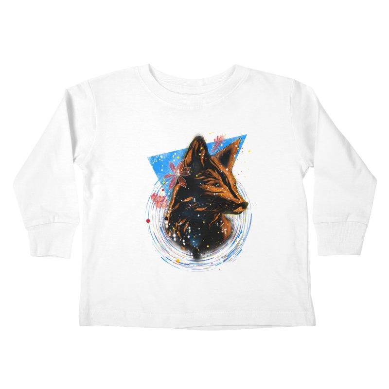 magical fox Kids Toddler Longsleeve T-Shirt by kharmazero's Artist Shop