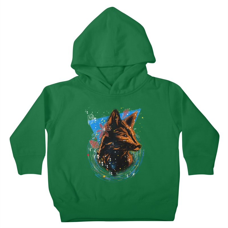 magical fox Kids Toddler Pullover Hoody by kharmazero's Artist Shop