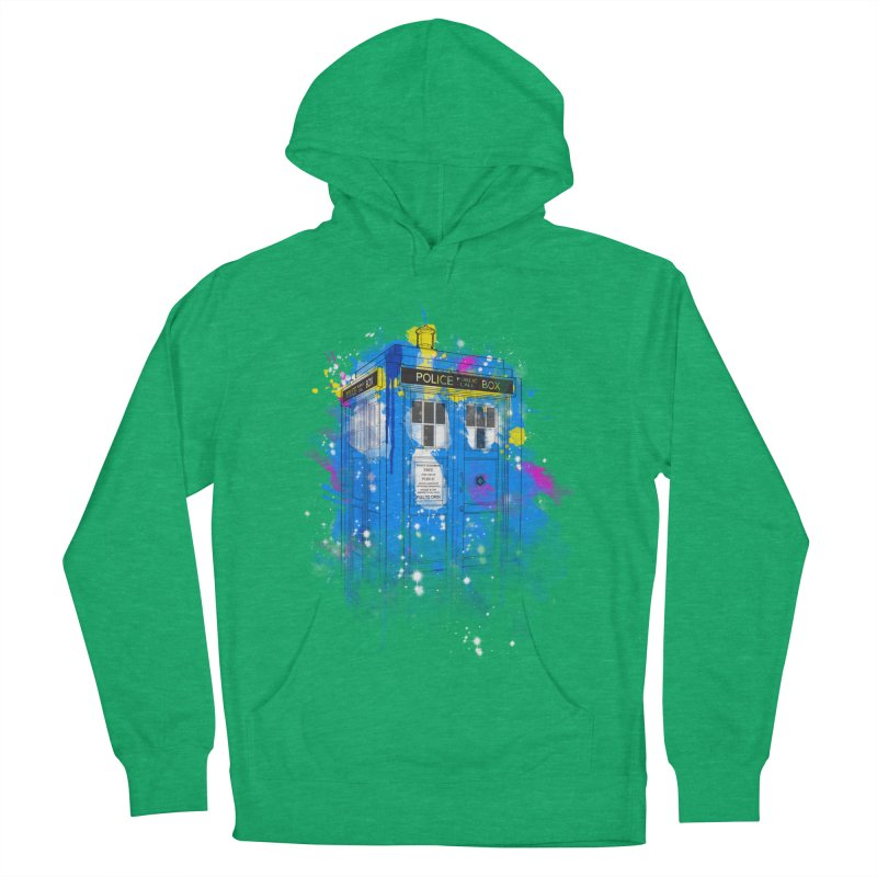 tardisplash Men's Pullover Hoody by kharmazero's Artist Shop