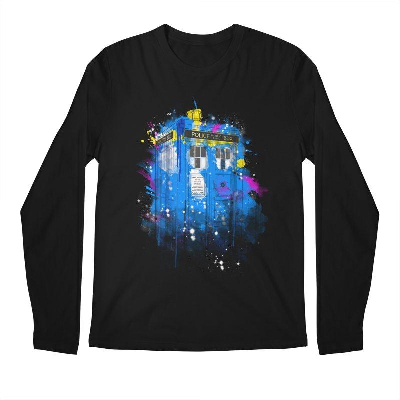 tardisplash Men's Longsleeve T-Shirt by kharmazero's Artist Shop