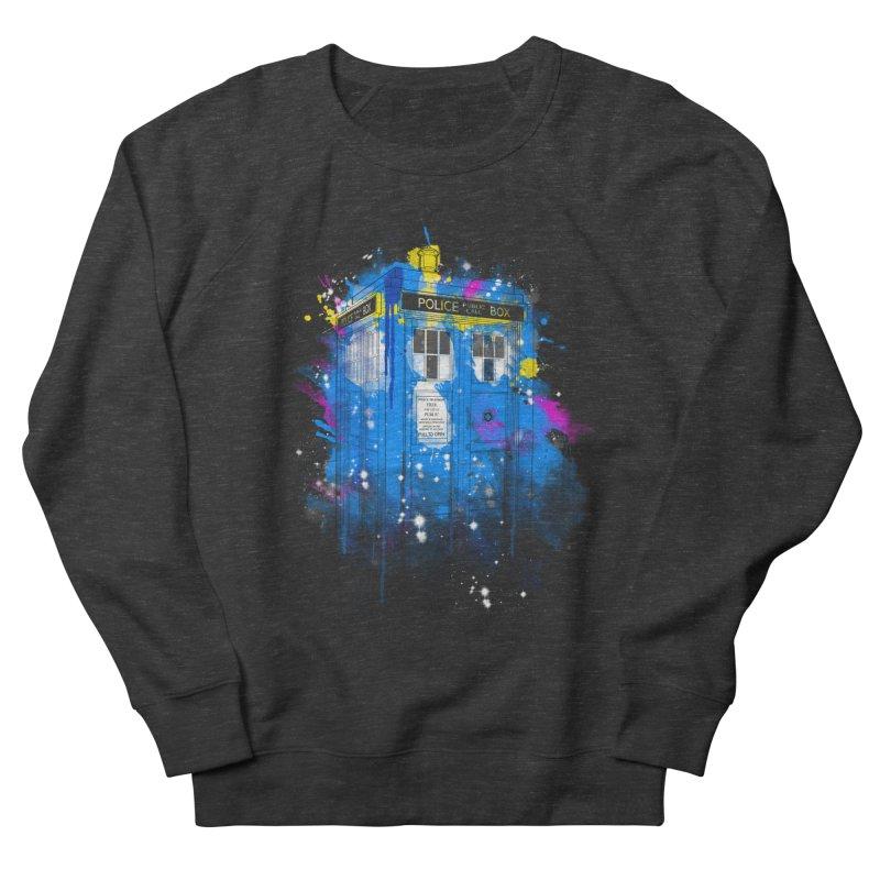 tardisplash Men's Sweatshirt by kharmazero's Artist Shop