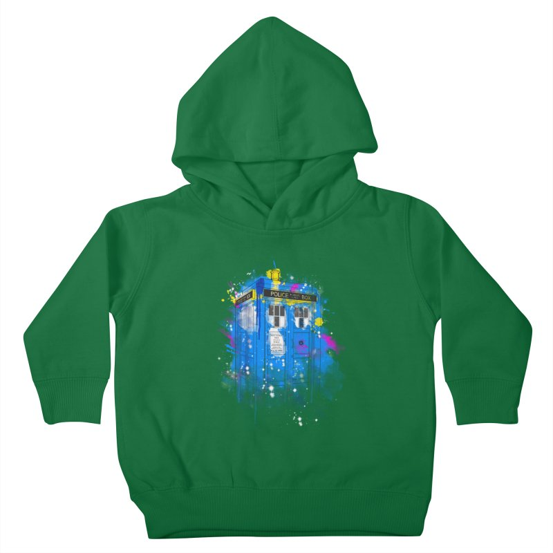 tardisplash Kids Toddler Pullover Hoody by kharmazero's Artist Shop