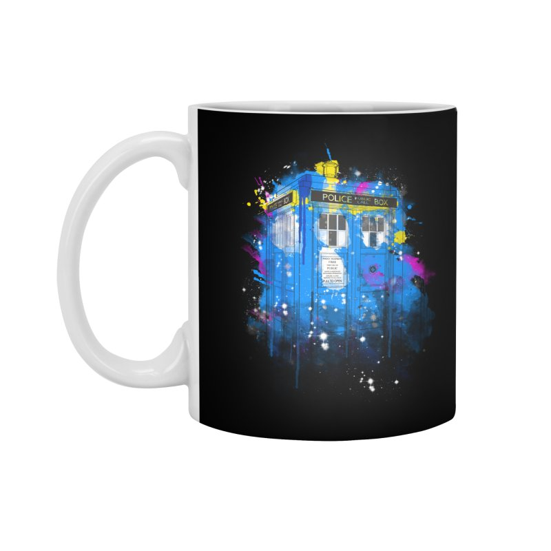 tardisplash Accessories Mug by kharmazero's Artist Shop