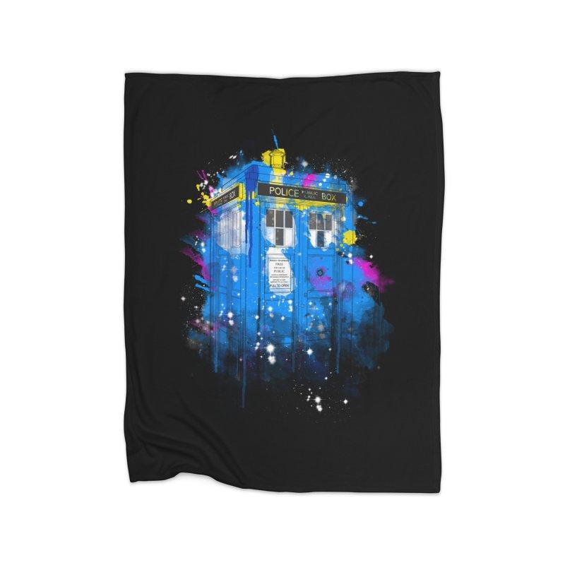 tardisplash Home Blanket by kharmazero's Artist Shop
