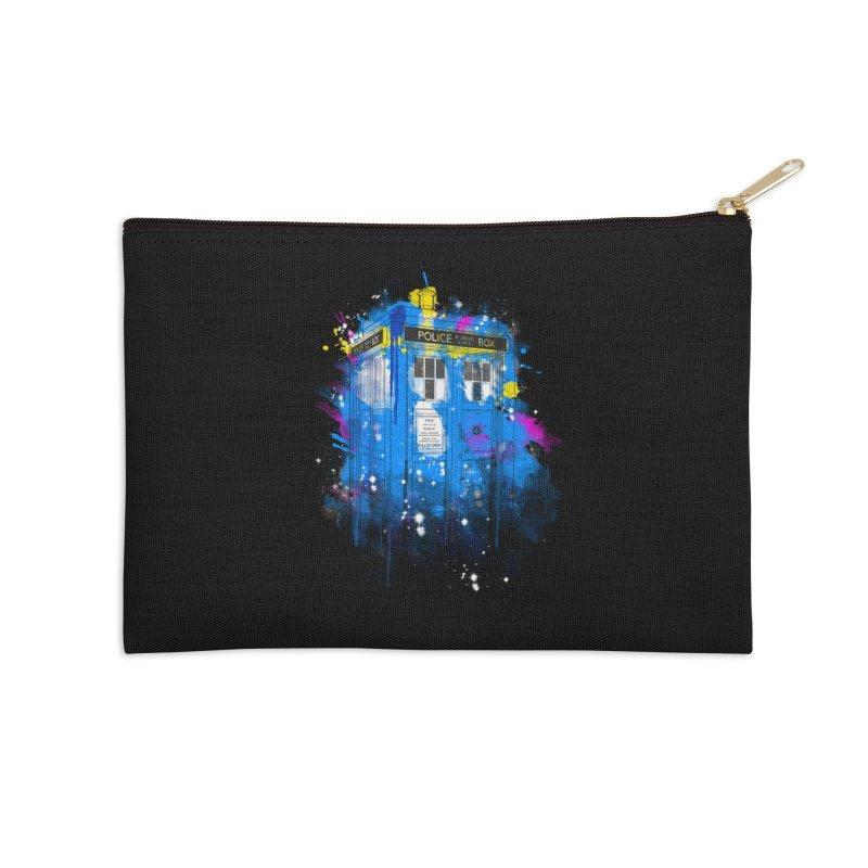 tardisplash Accessories Zip Pouch by kharmazero's Artist Shop