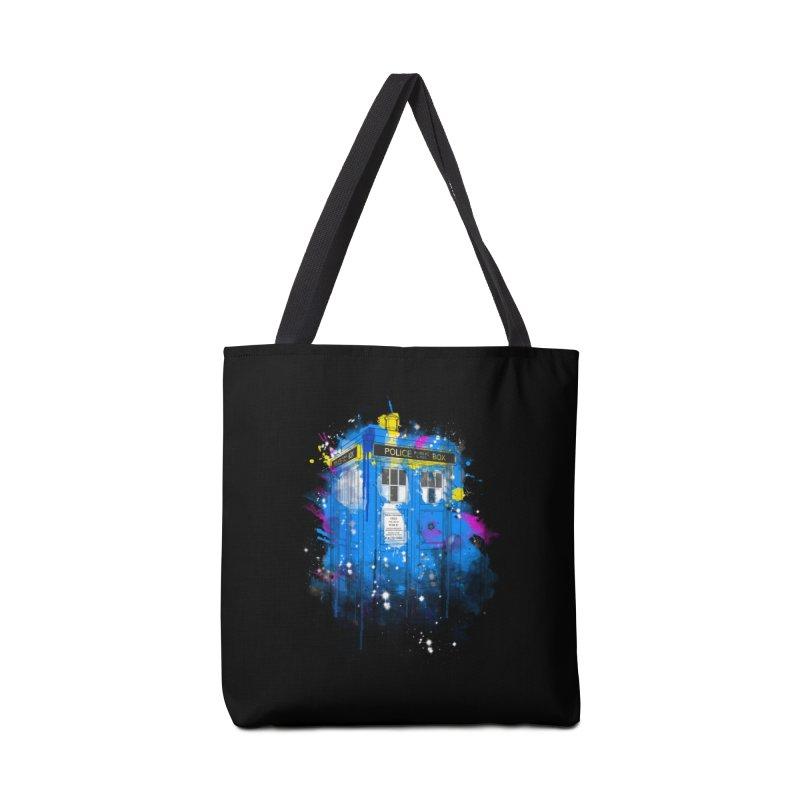 tardisplash Accessories Bag by kharmazero's Artist Shop