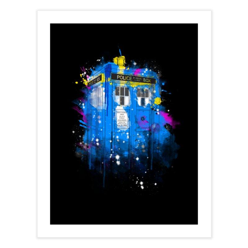 tardisplash Home Fine Art Print by kharmazero's Artist Shop