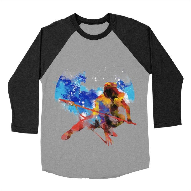 red princess Men's Baseball Triblend T-Shirt by kharmazero's Artist Shop