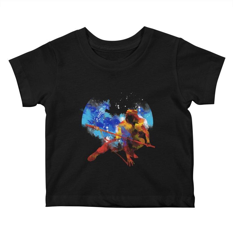 red princess Kids Baby T-Shirt by kharmazero's Artist Shop