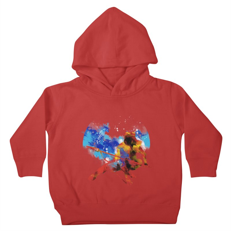 red princess Kids Toddler Pullover Hoody by kharmazero's Artist Shop