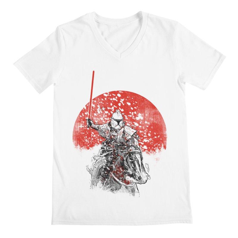 samurai trooper Men's V-Neck by kharmazero's Artist Shop