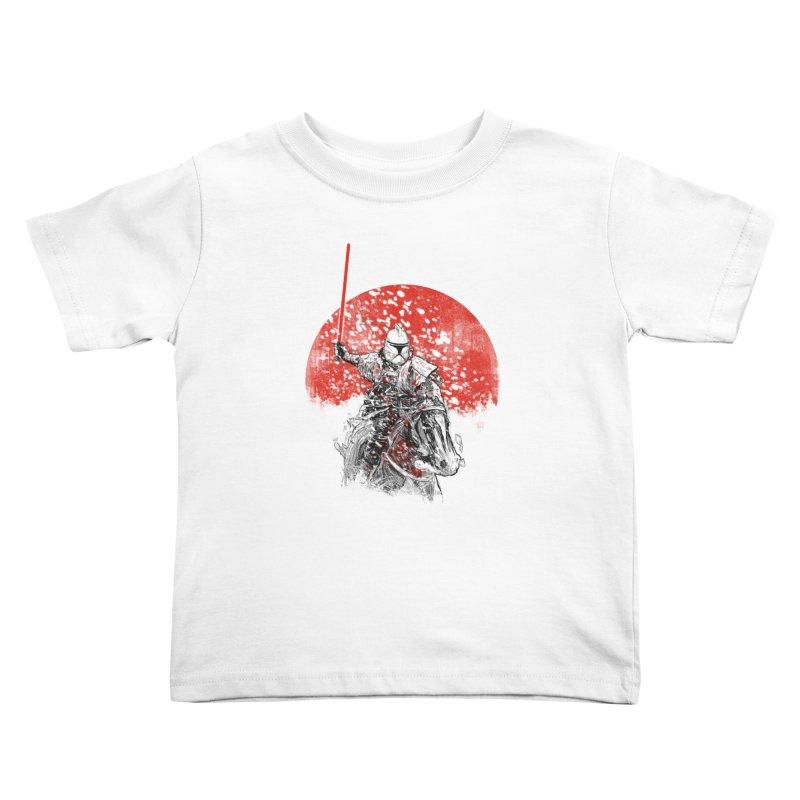 samurai trooper Kids Toddler T-Shirt by kharmazero's Artist Shop