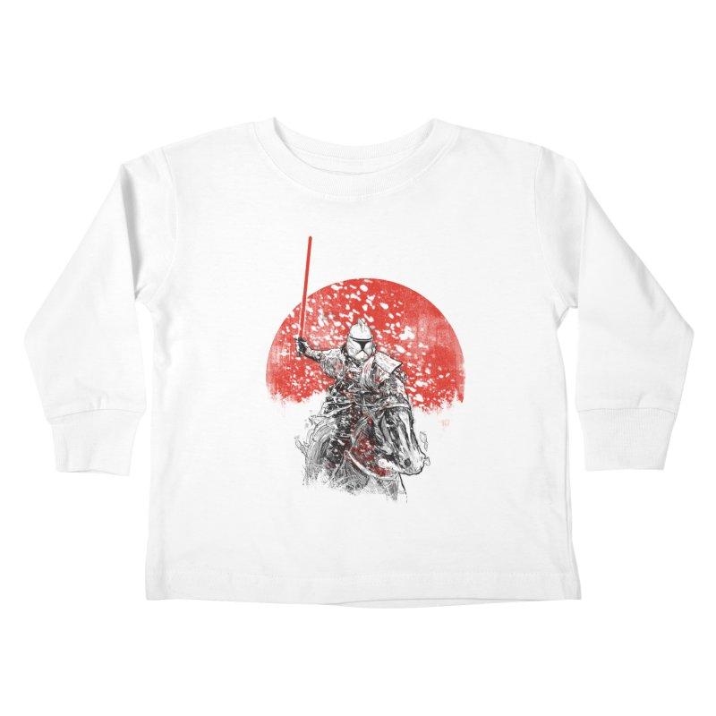 samurai trooper Kids Toddler Longsleeve T-Shirt by kharmazero's Artist Shop