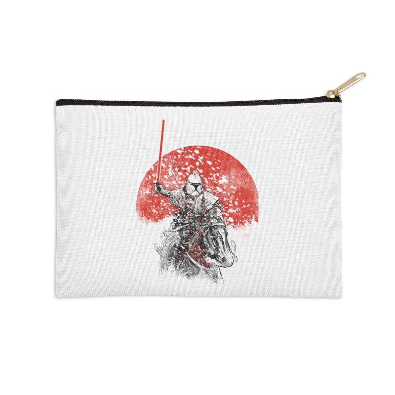 samurai trooper Accessories Zip Pouch by kharmazero's Artist Shop