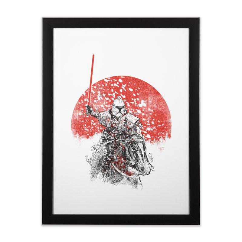 samurai trooper Home Framed Fine Art Print by kharmazero's Artist Shop