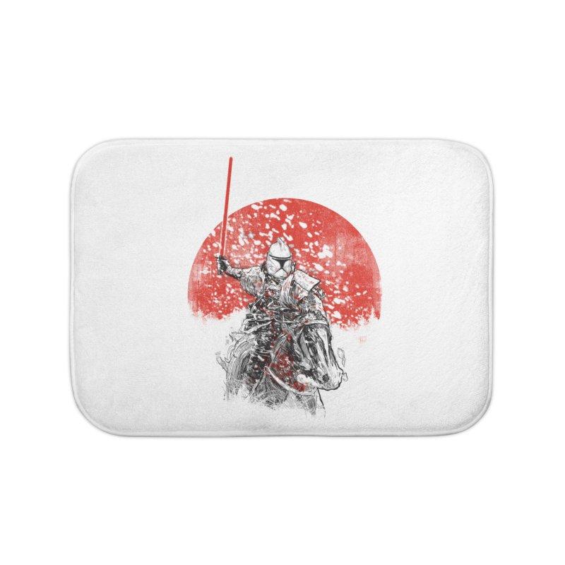 samurai trooper Home Bath Mat by kharmazero's Artist Shop