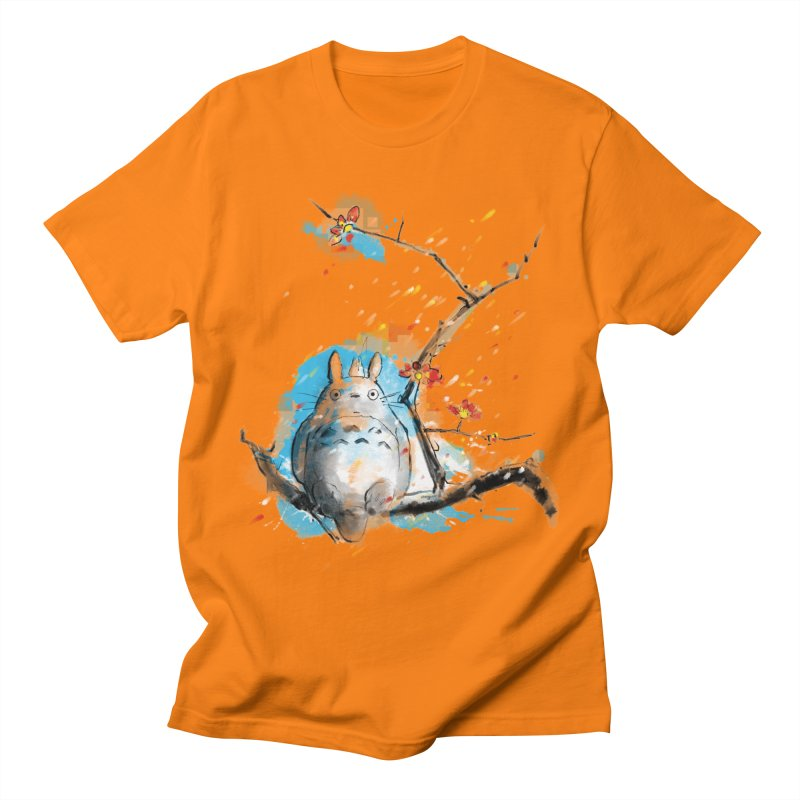 forest spirit a la hokusai Men's T-Shirt by kharmazero's Artist Shop
