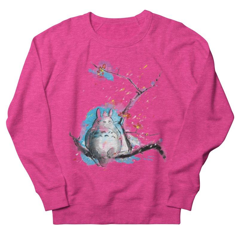 forest spirit a la hokusai Women's Sweatshirt by kharmazero's Artist Shop