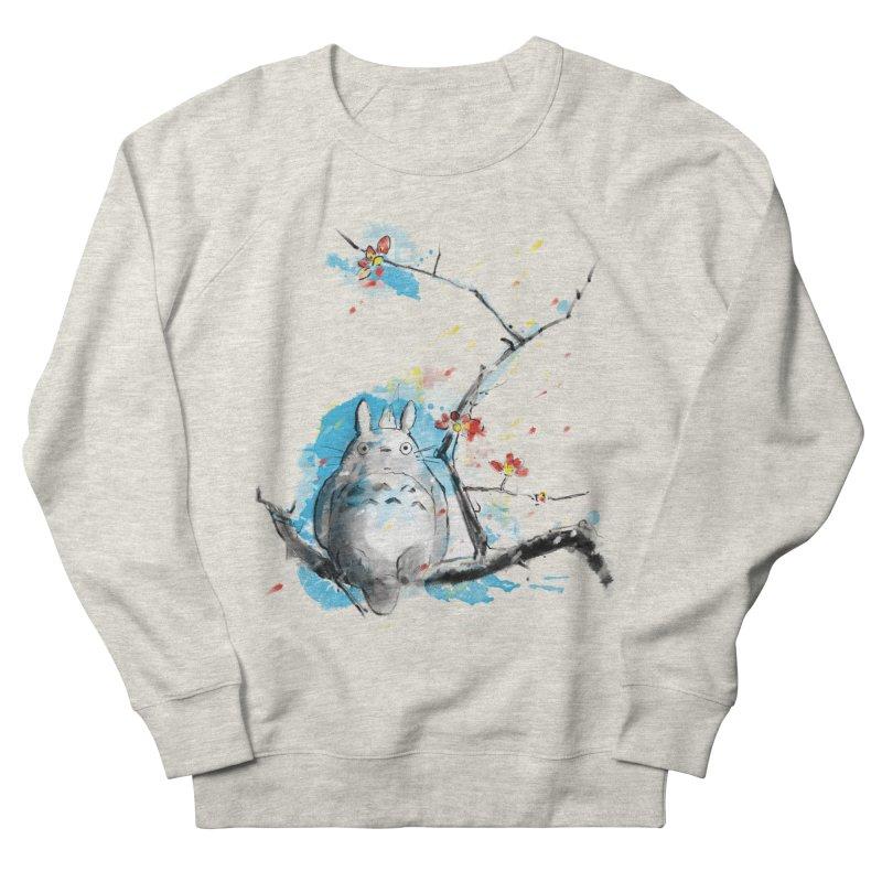 forest spirit a la hokusai Men's Sweatshirt by kharmazero's Artist Shop