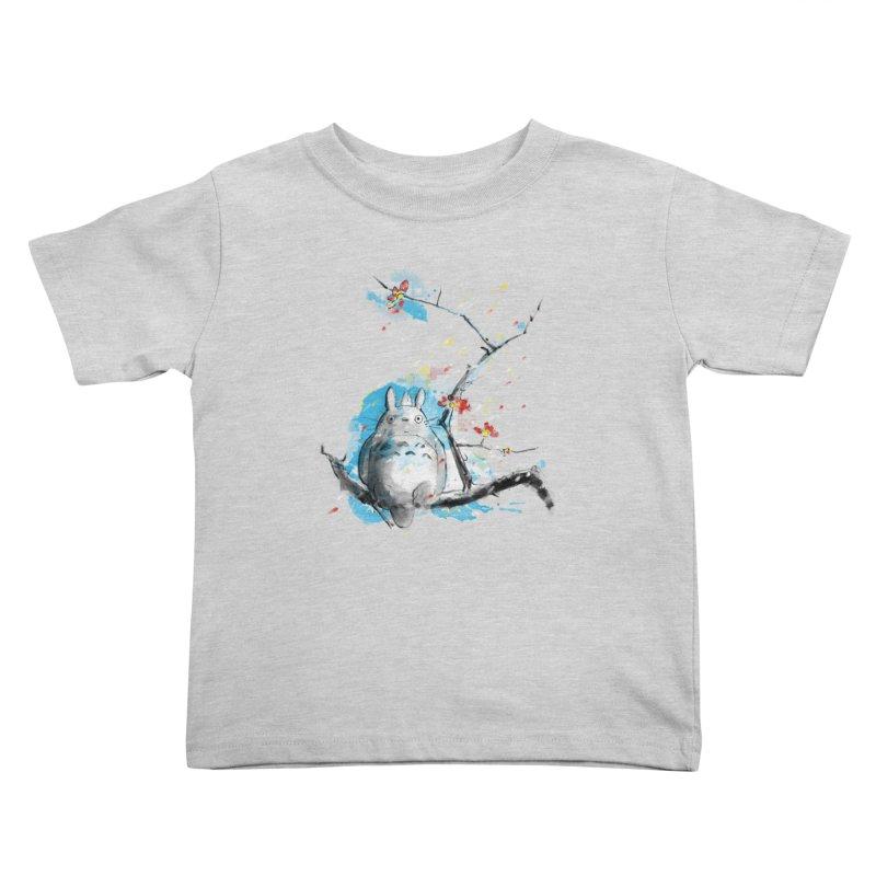 forest spirit a la hokusai Kids Toddler T-Shirt by kharmazero's Artist Shop