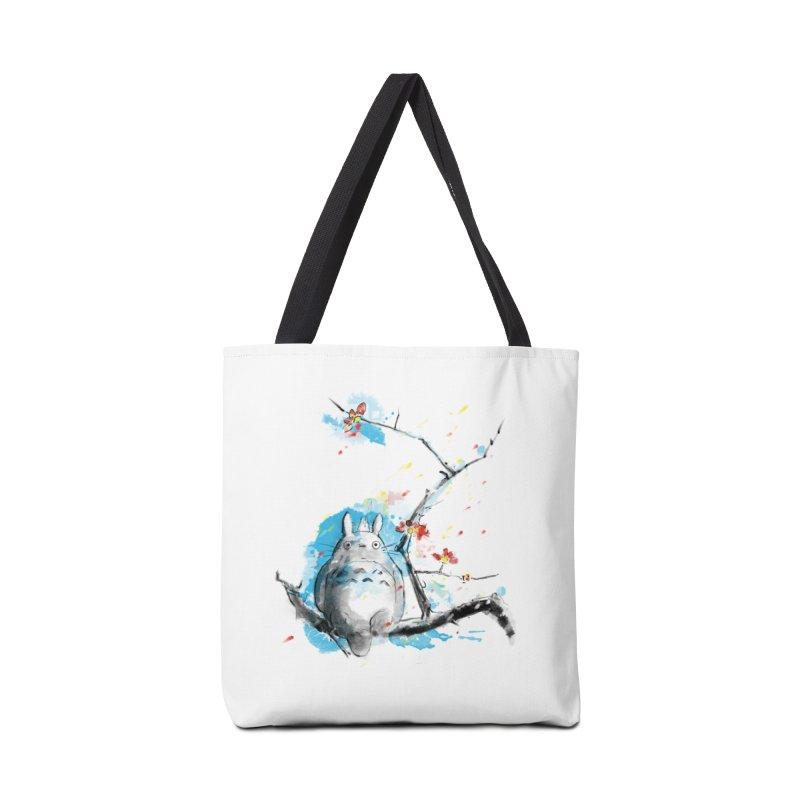 forest spirit a la hokusai Accessories Bag by kharmazero's Artist Shop