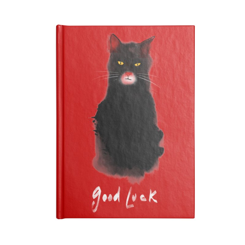 lucky cat Accessories Notebook by kharmazero's Artist Shop