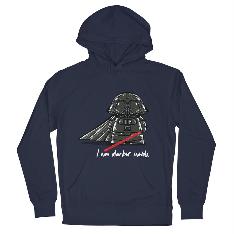darker inside Men's Pullover Hoody by kharmazero's Artist Shop