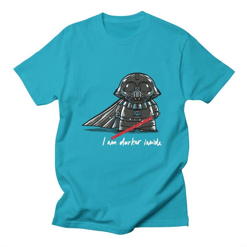darker inside Men's T-Shirt by kharmazero's Artist Shop