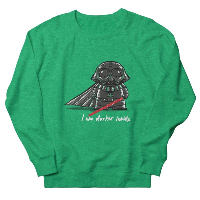 darker inside Women's Sweatshirt by kharmazero's Artist Shop