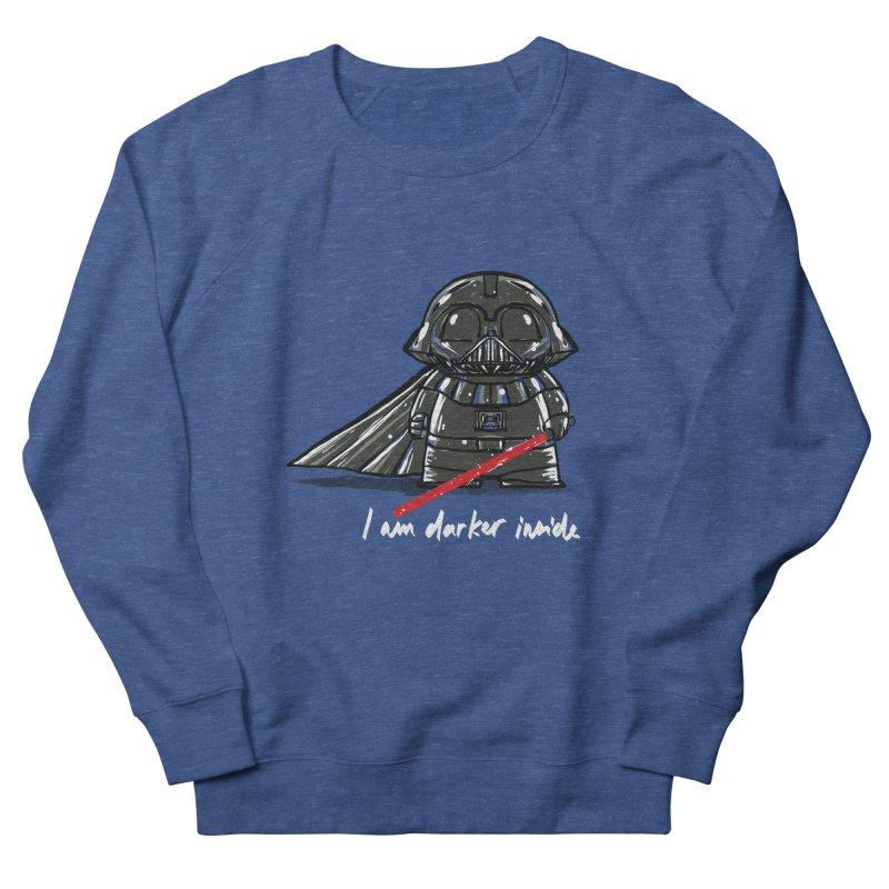 darker inside Men's Sweatshirt by kharmazero's Artist Shop