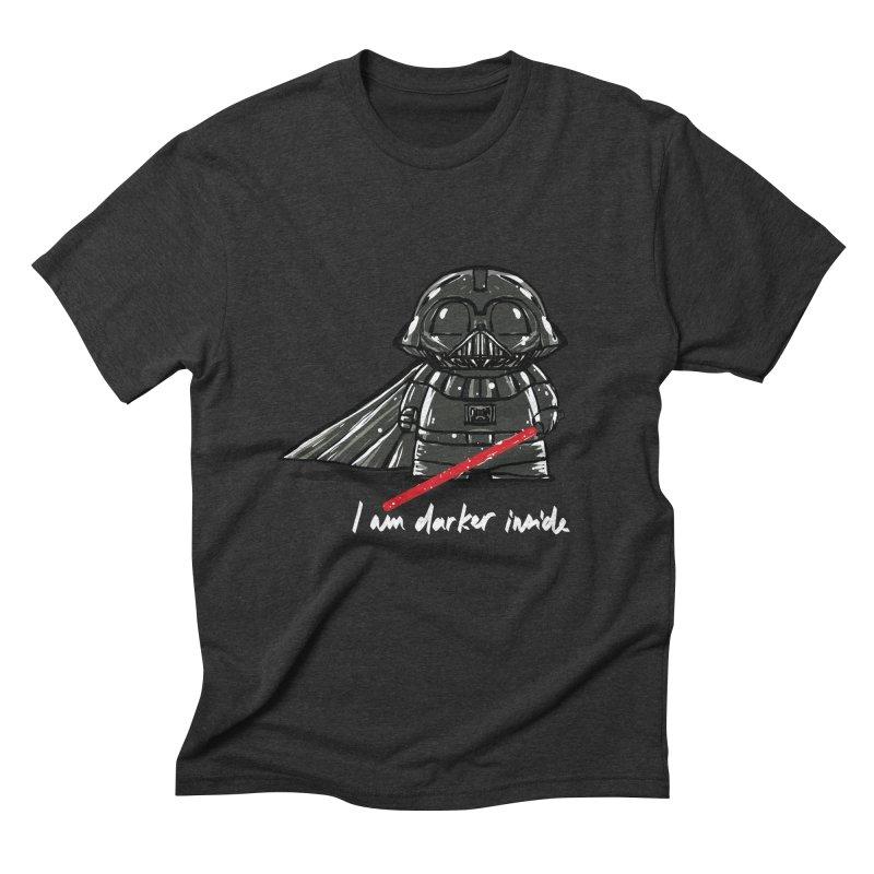 darker inside Men's Triblend T-Shirt by kharmazero's Artist Shop