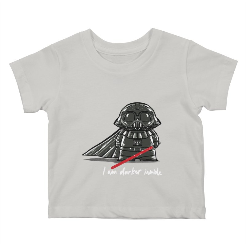 darker inside Kids Baby T-Shirt by kharmazero's Artist Shop