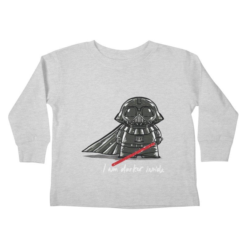 darker inside Kids Toddler Longsleeve T-Shirt by kharmazero's Artist Shop