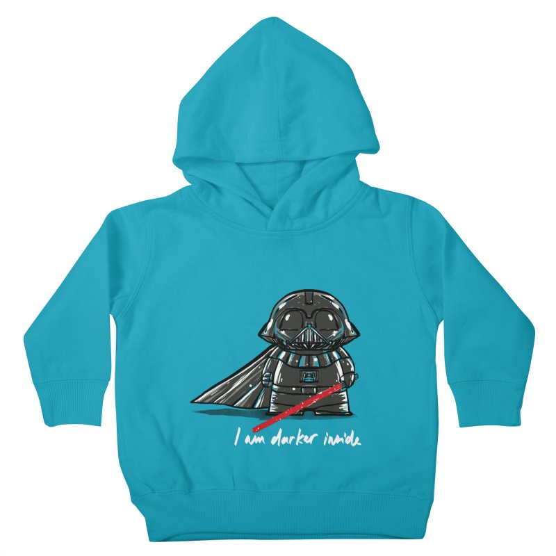 darker inside Kids Toddler Pullover Hoody by kharmazero's Artist Shop