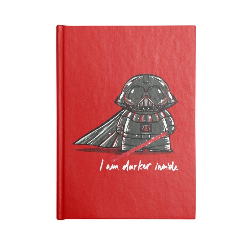 darker inside Accessories Notebook by kharmazero's Artist Shop