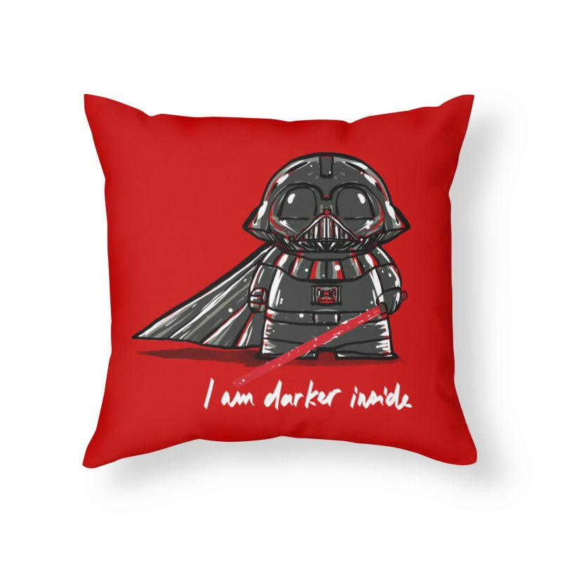 darker inside Home Throw Pillow by kharmazero's Artist Shop