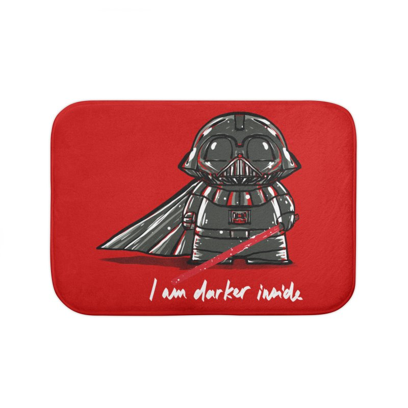 darker inside Home Bath Mat by kharmazero's Artist Shop