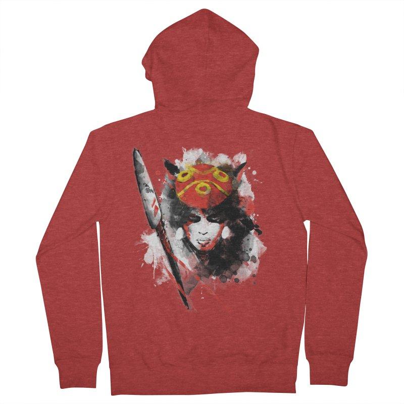 red princess Women's Zip-Up Hoody by kharmazero's Artist Shop