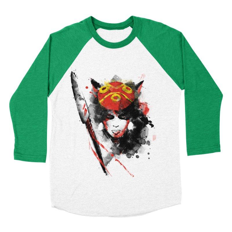 red princess Women's Baseball Triblend T-Shirt by kharmazero's Artist Shop