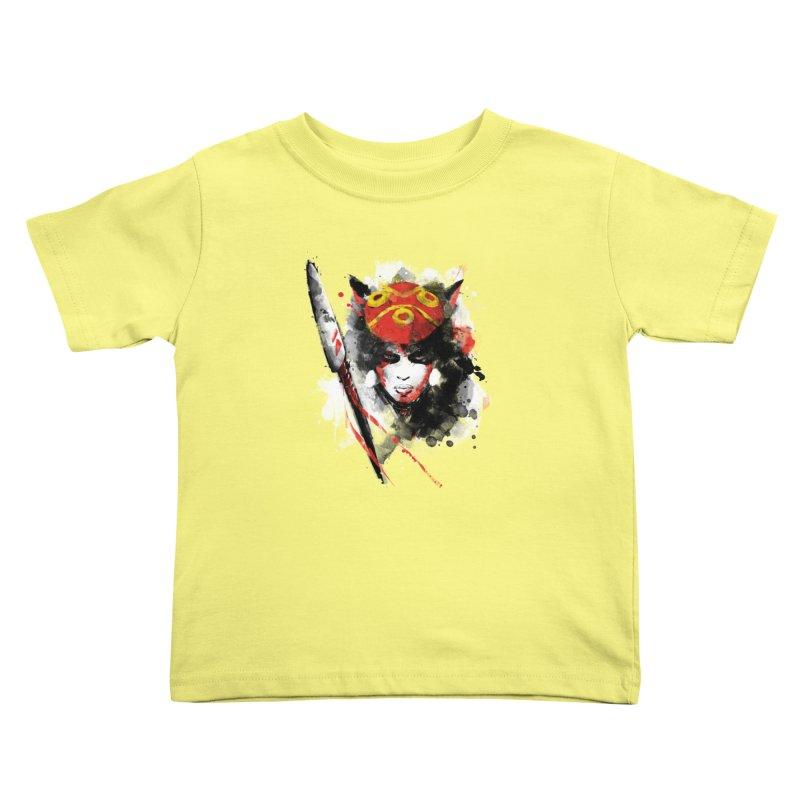 red princess Kids Toddler T-Shirt by kharmazero's Artist Shop