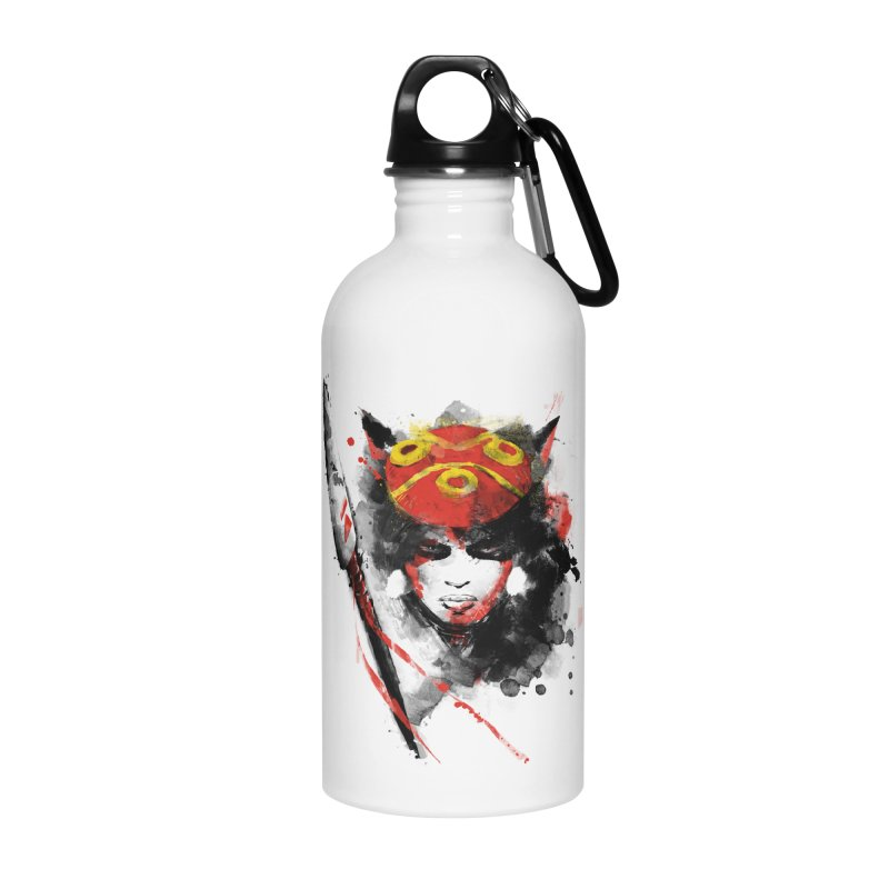 red princess Accessories Water Bottle by kharmazero's Artist Shop